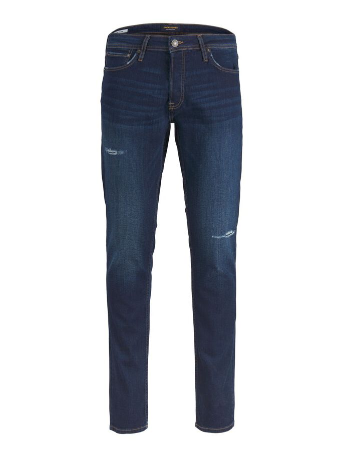 GLENN ORIGINAL CJ 807 SLIM FIT JEANS, Blue Denim, large