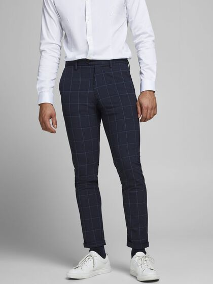 MARCO CONNOR AKM CHECKED CHINOS