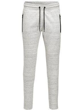 ZIPPER DETAIL SWEAT PANTS