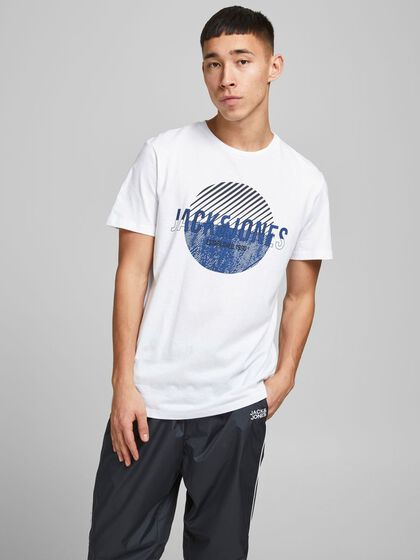 REGULAR FIT LOGO PRINT T-SHIRT
