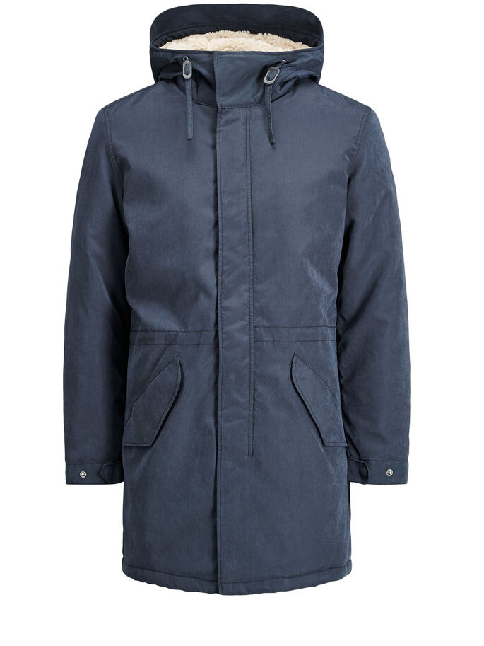 DE ESTILO ACTUAL PARKA, Dark Navy, large