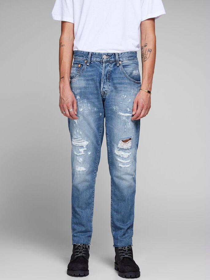 ccc7148702e7 Frank leen bl 828 tapered fit jeans