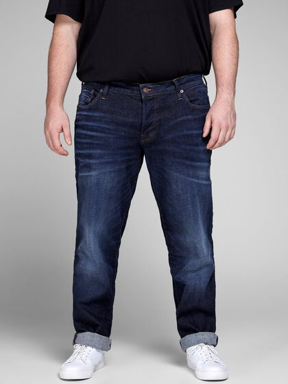 JJITIM JJICON JJ 105 50SPS AW6 PS PLUS-SIZE SLIM FIT JEANS