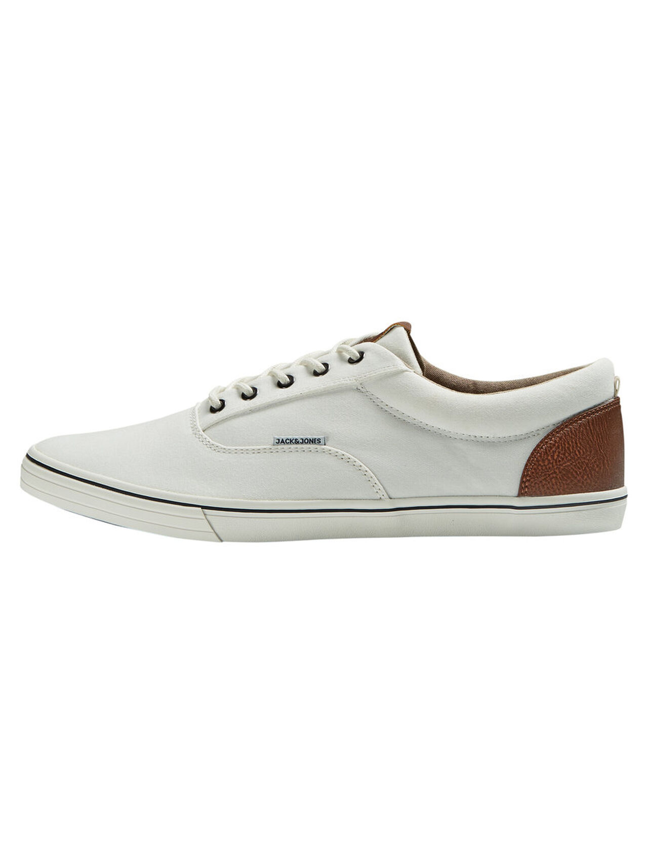 JACK & JONES Canvas Sneakers Men White