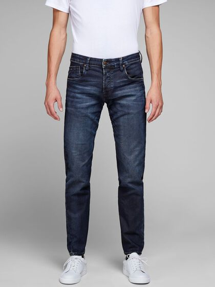 MIKE RON JOS 715 INDIGO KNIT JEAN COUPE CONFORT