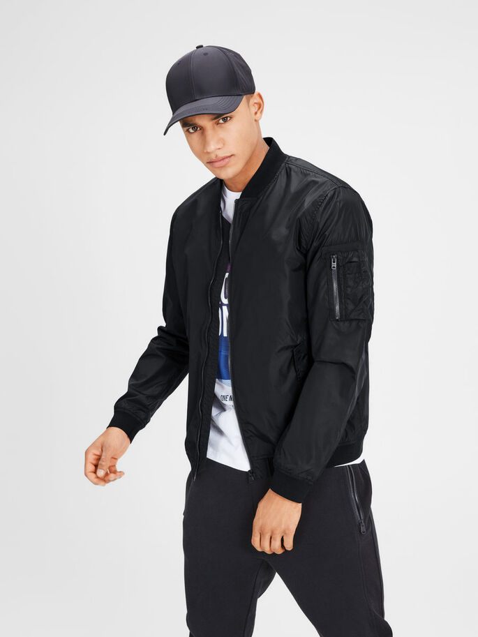 LIGHTWEIGHT JACKET, Black, large