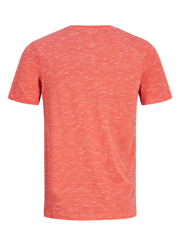 LÄSSIGES T-SHIRT, Cayenne, large
