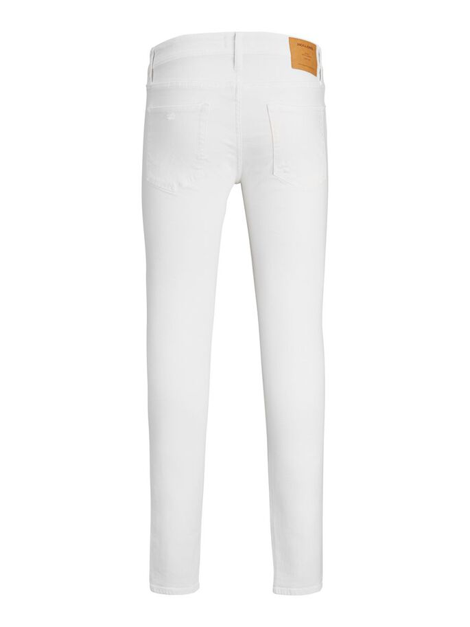 LIAM ORIGINAL NA 405 SKINNY FIT JEANS, White, large