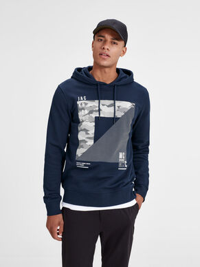 GRAFISK SWEATSHIRT