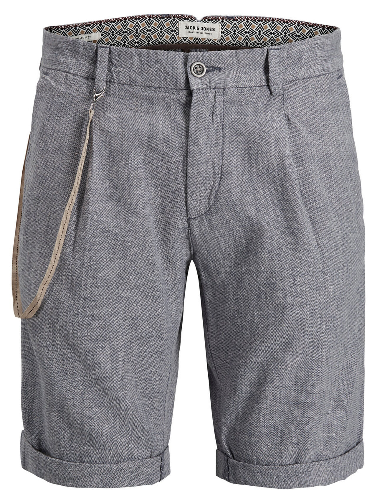 JACK & JONES Chino Long Chino Shorts Men blue
