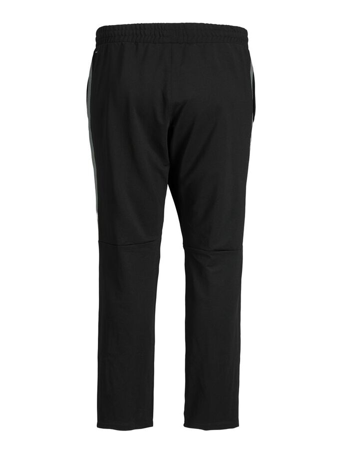 CASUAL PLUS SIZE RUNNING TIGHTS, Black, large