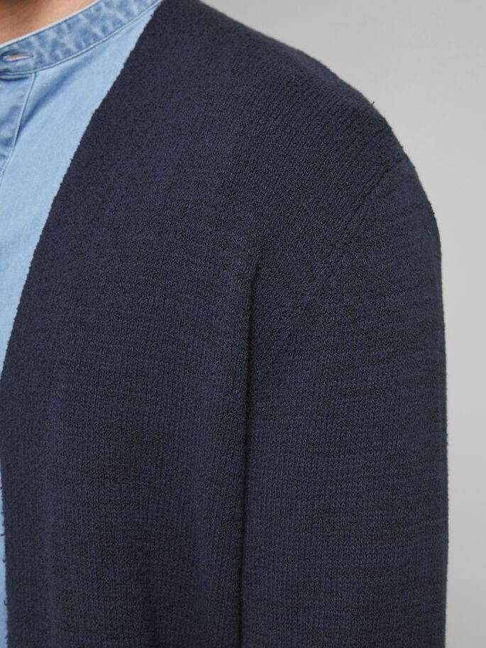 OPEN FRONT CARDIGAN, New Navy, large