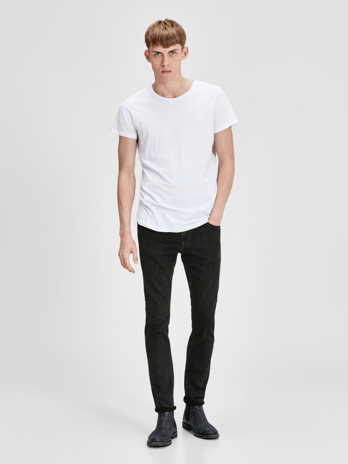 LIAM ORIGINAL AM 699 JEANS SKINNY FIT, Grey Denim, large