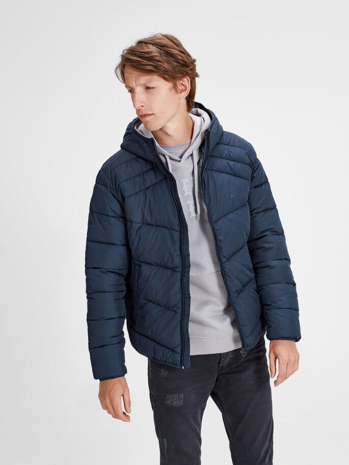 ON-TREND PUFFER JACKET, Total Eclipse, large