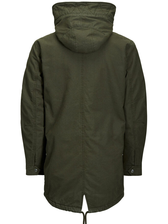 WARMER PARKA, Forest Night, large