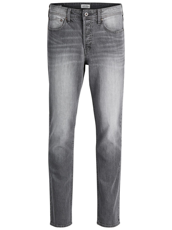 TIM ORIGINAL CR 010 SLIM FIT JEANS, Grey Denim, large