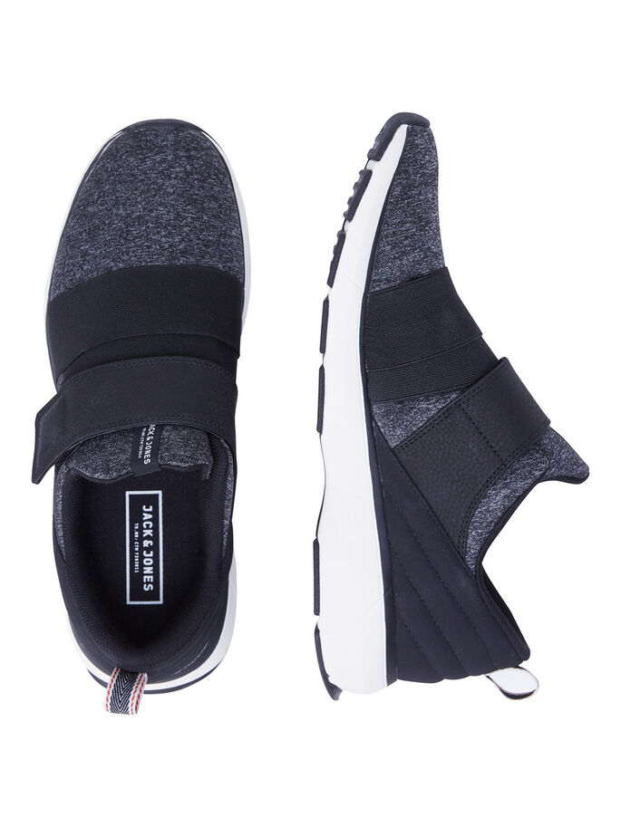 STRAP SNEAKERS, Anthracite, large