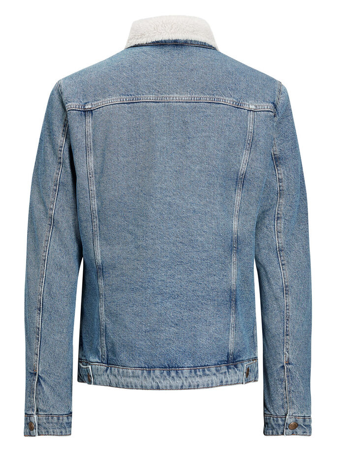 ALVIN JACKET JOS 309 DENIMJAKKE, Blue Denim, large