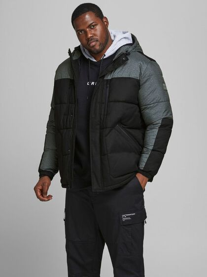 GERECYCLED POLYESTER PUFFER PLUS SIZE JAS