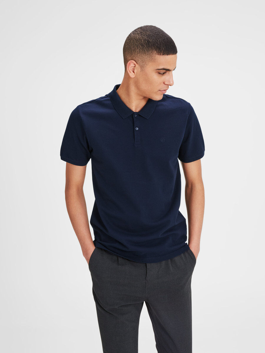 JACK & JONES Classic Plus Size Polo Men grey 5JTCp