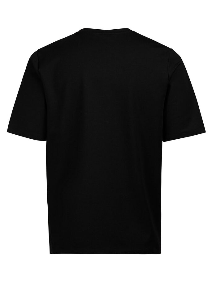 LOOSE-FIT- T-SHIRT, Black, large
