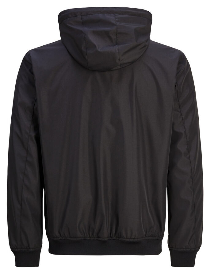 WATER REPELLENT LIGHT JACKET, Black, large