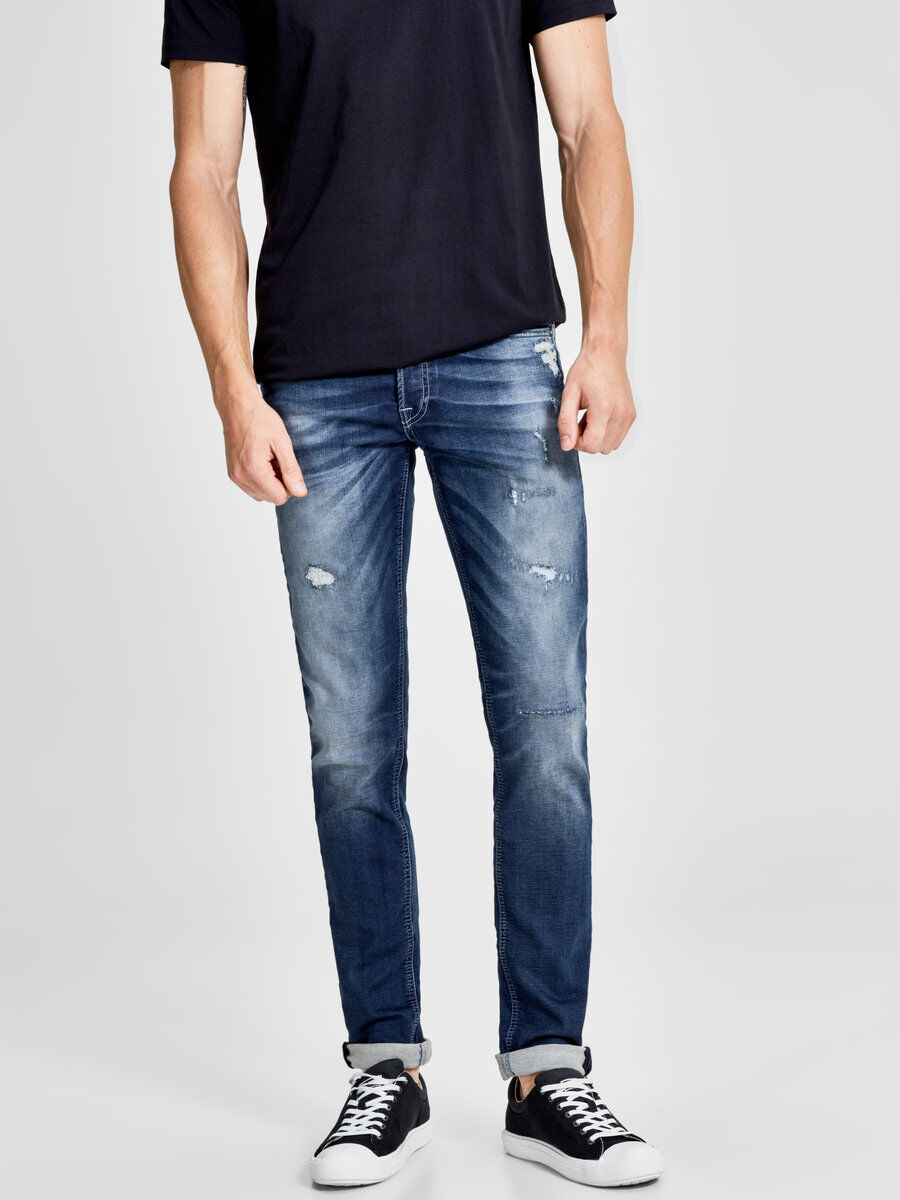 Jack & Jones GLENN ORIGINAL JOS 360 - Jean slim - blue denim xbmgVnxV5Q