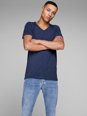 BASIC V-NECK REGULAR FIT T-SHIRT