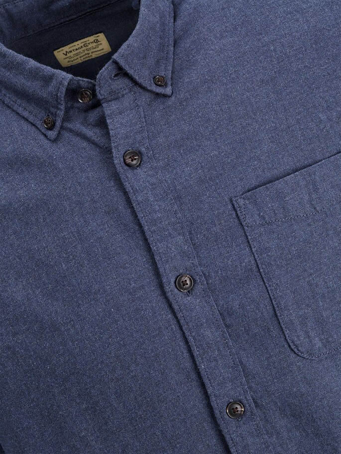 CASUAL CHEMISE À MANCHES LONGUES, Blue Nights, large