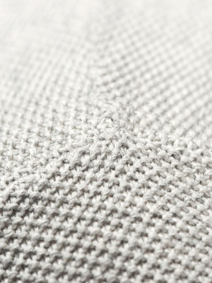 POLYVALENT EN MAILLE PULLOVER, Treated White, large
