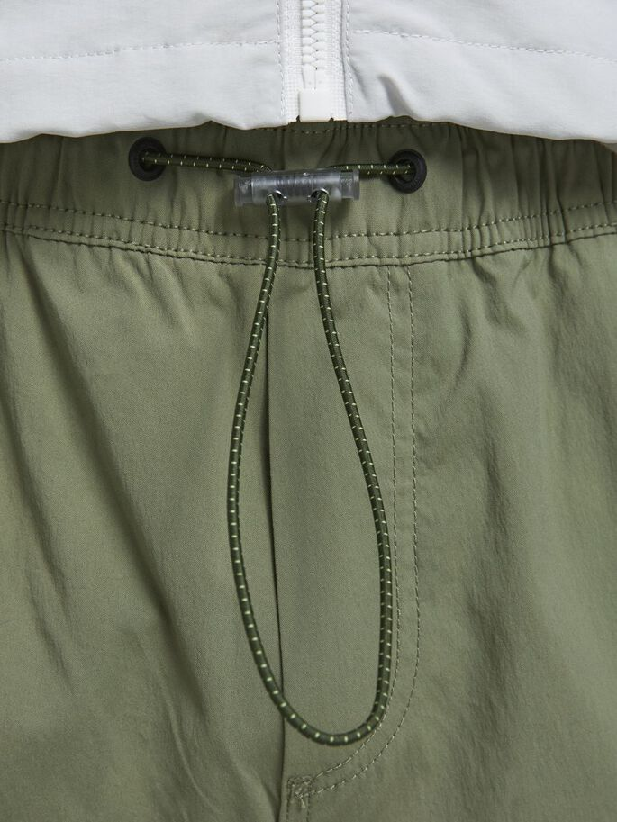 GORDON ROSS CARGO TROUSERS, Deep Lichen Green, large