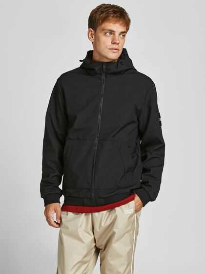 HOODED TRANSITIONAL JACKET