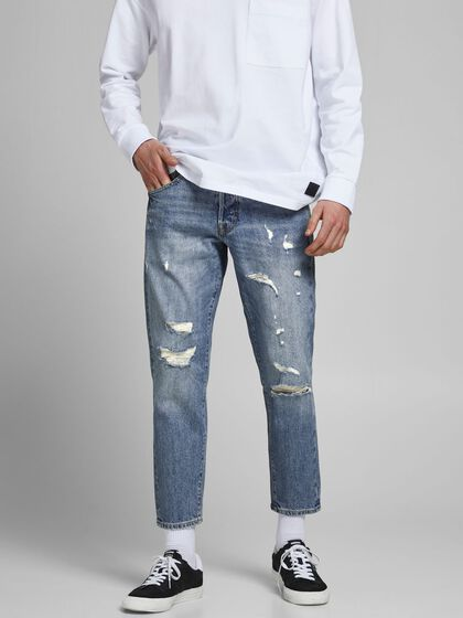 FRANK LEEN AM 435 PCW TAPERED JEANS