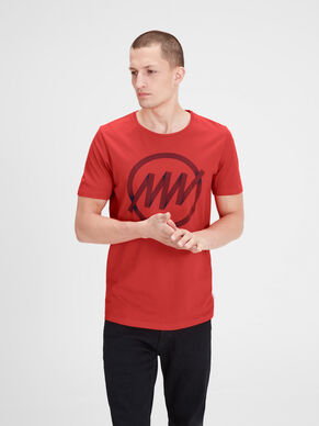 BEDRUKT SLIM FIT T-SHIRT