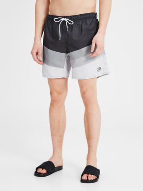 COLOUR-BLOCKING- BADESHORTS