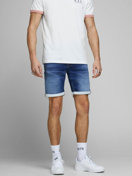 RICK ICON GE 006 SHORTS EN JEAN