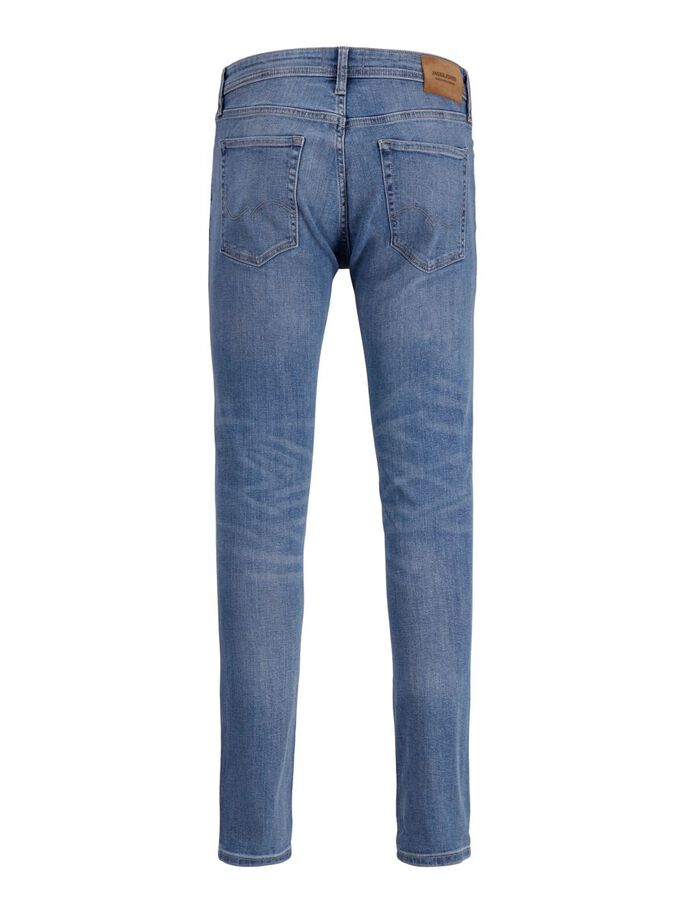 LIAM ORIGINAL AM 276 SKINNY FIT JEANS, Blue Denim, large