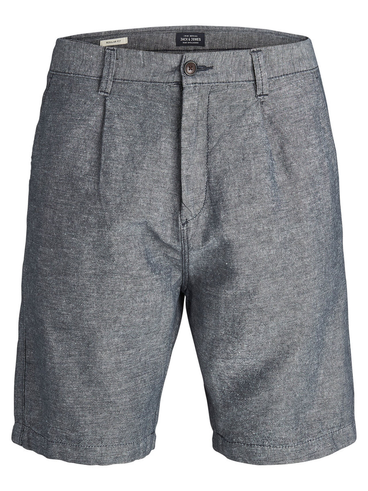 JACK & JONES Linen Akm Chino Shorts Men blue