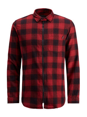 CHECK SLIM FIT LONG SLEEVED SHIRT
