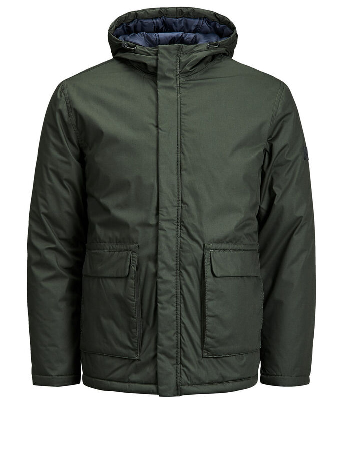 ON-TREND PUFFER JACKET, Rosin, large