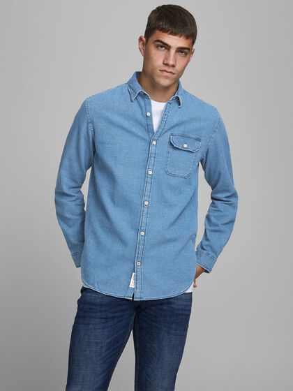 JEAN COUPE CONFORT CHEMISE