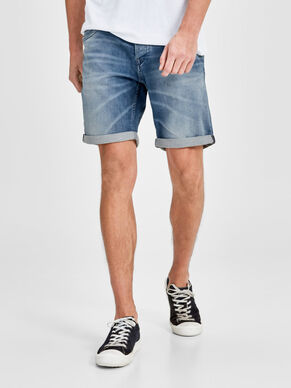 RICK DASH GE 788 SHORTS IN DENIM