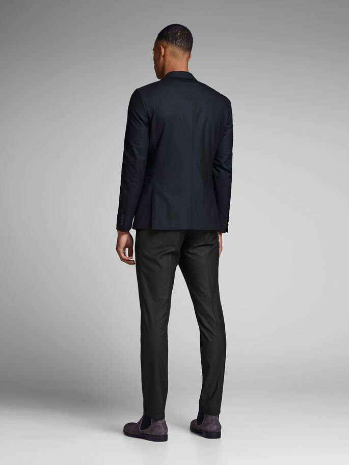 CLASSIC SUIT PANTS, Black, large