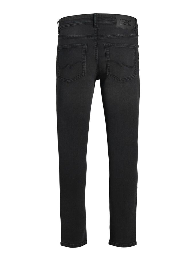 BOYS DAN ORIGINAL NA 512 SKINNY FIT JEANS, Black Denim, large