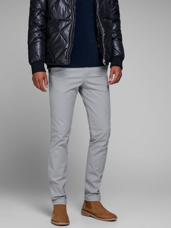 Jack & Jones - Marco Bowie Sa Limestone Sts Slim Fit Chinos - 3