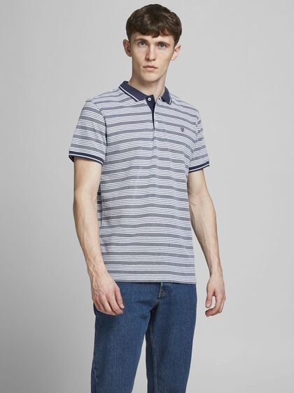 REGULAR FIT STRIBET POLO