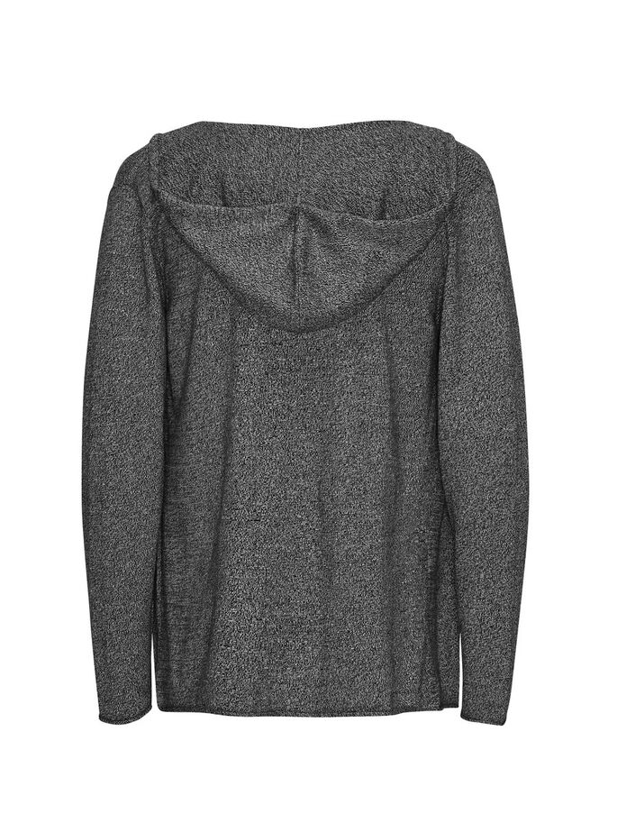PULL DÉCONTRACTÉ CARDIGAN, Black, large