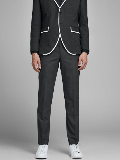 MAX MACK VISCOSE SUIT TROUSERS