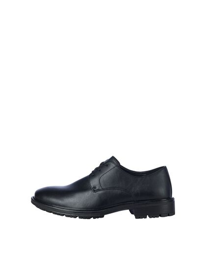 FAUX LEATHER DRESS SHOES