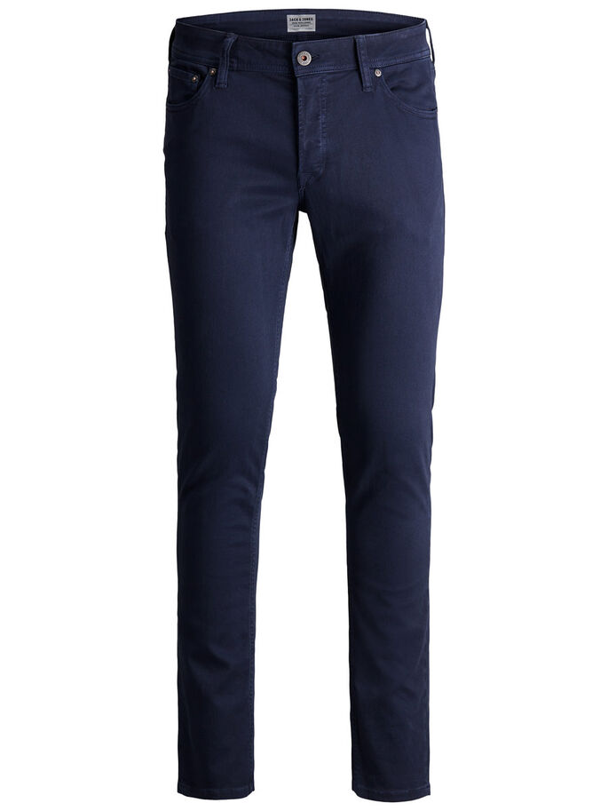 GLENN ORIGINAL AKM 696 TROUSERS, Navy Blazer, large
